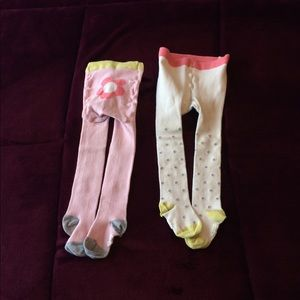 2 Pairs of Mini Boden Tights